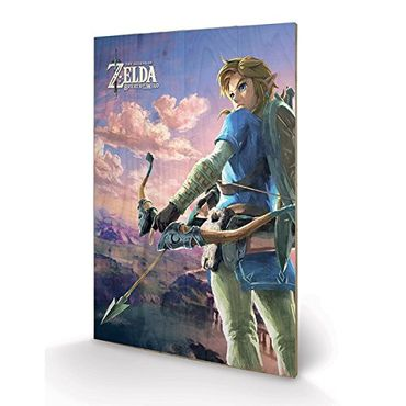 The Legend of Zelda: Breath of the Wild Holzdruck: Hyrule Steppe