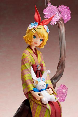 Vocaloid 1/8 Statue: Kagamine Rin & Rabbit Yukine [Hanairogoromo Version] – Bild 4