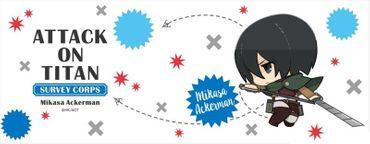 Attack on Titan 320ml Milchglas Tasse: Mikasa Ackermann – Bild 4