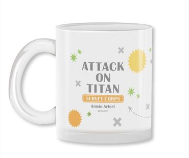 Attack on Titan 320ml Milchglas Tasse: Armin Arlert – Bild 3