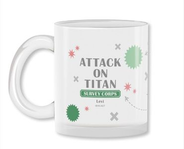 Attack on Titan 320ml Milchglas Tasse: Levi Ackermann – Bild 3