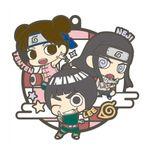 Naruto Shippuden Rubber Mascot Buddy Colle Three Man Cell Dattebayo! Hen Gummi Anhänger: #4 Tenzen, Lee & Neji
