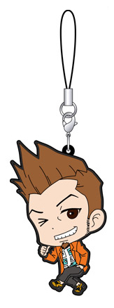 Phoenix Wright: Ace Attorney 15th Anniversary Rubber Strap Collection A Gummi Anhänger: #05 Larry Butz