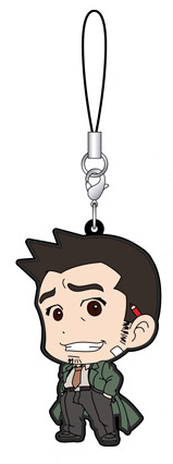 Phoenix Wright: Ace Attorney 15th Anniversary Rubber Strap Collection A Gummi Anhänger: #07 Dick Gumshoe