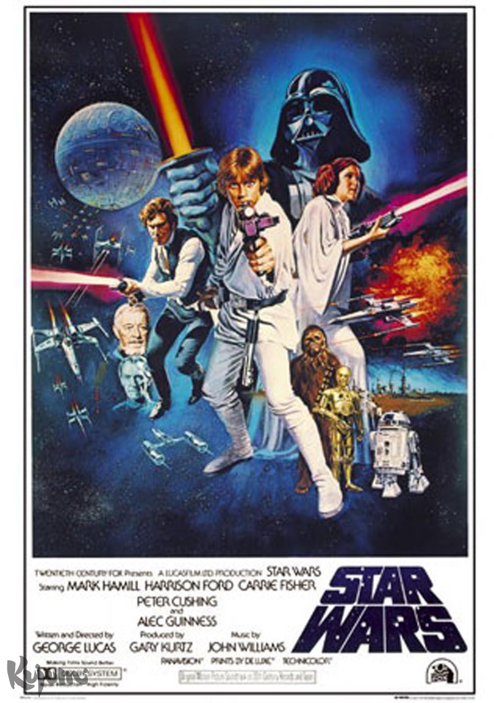 Star Wars Episode Iv Eine Neue Hoffnung Poster Filmplakat Kujumi
