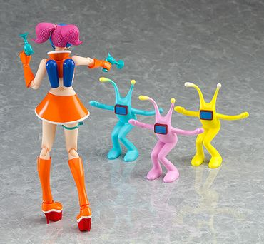 Space Channel 5 figma #EX-043 Figur: Ulala [Exciting Orange Version] – Bild 5