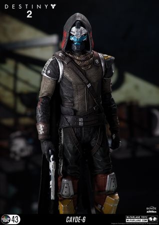 Destiny 2 Color Tops #43 Action Figur: Cayde-6 – Bild 6