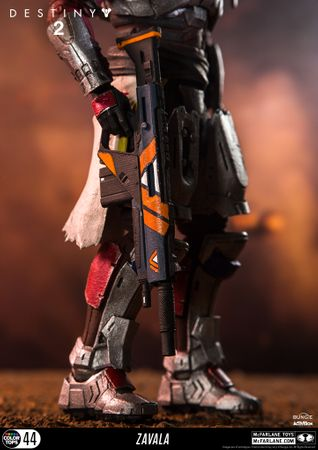 Destiny 2 Color Tops #44 Action Figur: Commander Zavala – Bild 8