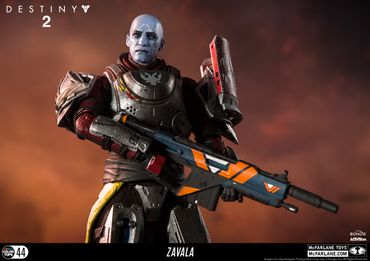 Destiny 2 Color Tops #44 Action Figur: Commander Zavala – Bild 6