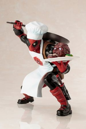 Deadpool ARTFX+ 1/10 Statue: Deadpool [Cooking Version] – Bild 1