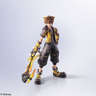 Kingdom Hearts III Bring Arts Action-Figur: Sora [Guardian Form Version]