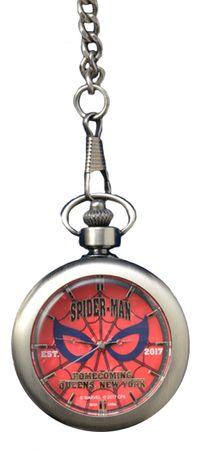 Marvel Cinematic Universum Spider-Man: Homecoming Premium Pocket Watch Taschenuhr: Spider-Man [Rot]