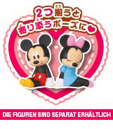 Disney Character Petanto! Chokkori-zu Trading Figur: Micky Maus – Bild 2