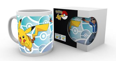 Pokémon 280ml Tasse: Ash Ketchum und Pikachu [I Choose You!]