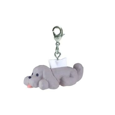 Yuri!!! on Ice Chara-Forme Swing Mascot Collection Anhänger: Makkachin [Taschentuch-Box]