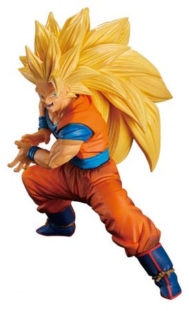Dragon Ball Super Son Goku FES!! Volume 3 Statue: Super Saiyajin 3 Son Goku – Bild 1