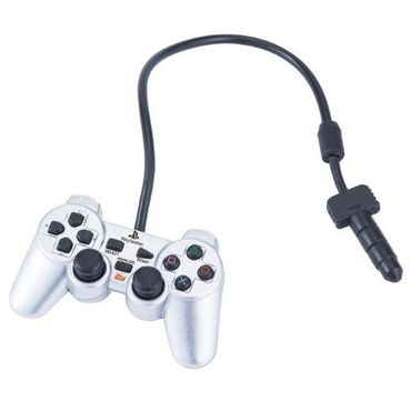 Playstation Handyanhänger: Dualshock 2 Analog Controller [Satin Silver]