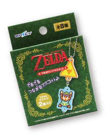 The Legend of Zelda: A Link to the Past Connection Link Mascot Acryl Anhänger: Link & Fliegende Ente – Bild 2