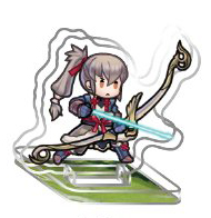Fire Emblem Heroes Mini Acrylic Figure Collection Volume 1 Trading Figur: Takumi, Der ewige Zweite