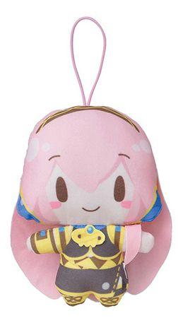 Vocaloid Mochi Mochi Mascot Plüsch Anhänger: Megurine Luka