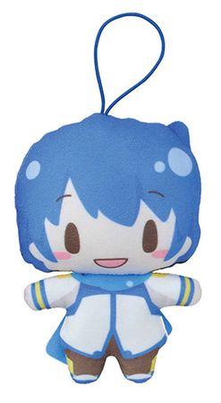 Vocaloid Mochi Mochi Mascot Plüsch Anhänger: Kaito