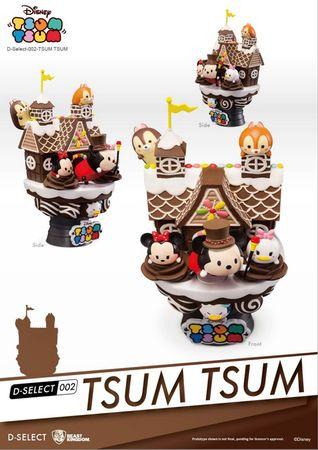 Disney D-Select 002 Diorama Statue: Tsum Tsum – Bild 2