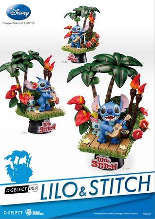 Disney D-Select 004 Diorama Statue: Lilo & Stitch – Bild 2
