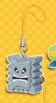 Super Mario 3D Land Enemy Danglers Handyanhänger: Tanuki-Steinblock