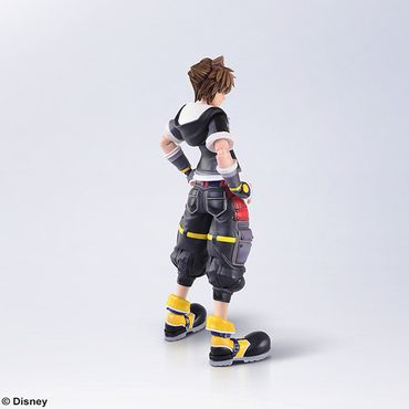 Kingdom Hearts III Bring Arts Action Figur: Sora [Second Form Version] – Bild 2