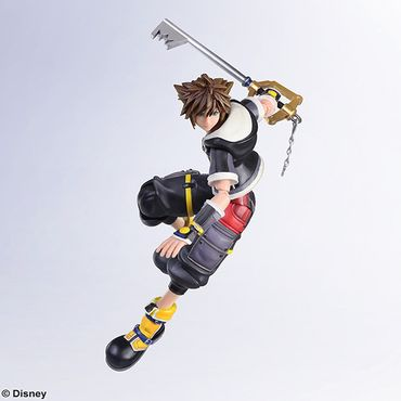 Kingdom Hearts III Bring Arts Action Figur: Sora [Second Form Version] – Bild 5