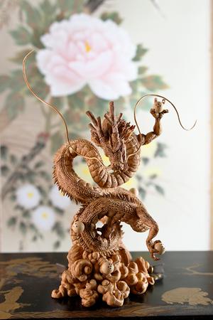 Dragon Ball Z CREATOR×CREATOR Statue: Shenlong [Woodcarving Version] – Bild 4