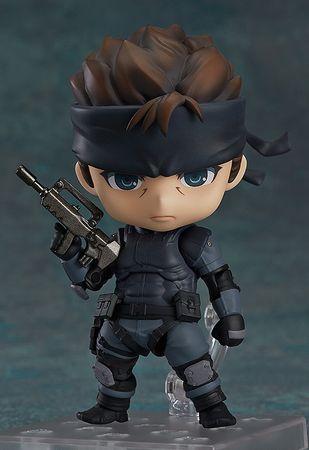 Metal Gear Solid Nendoroid #447 Figur: Solid Snake [Neuauflage] – Bild 1