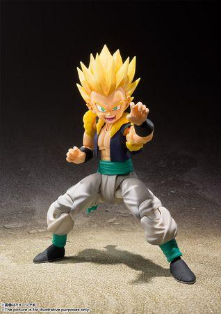 Dragon Ball Z S.H.Figuarts Action Figur: Super Saiyajin Gotenks – Bild 2
