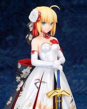 Fate/Stay Night 1/7 Statue: Saber [Kimono Dress Version] – Bild 11