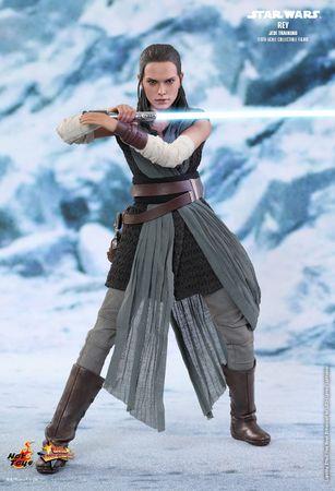 Star Wars: Episode VIII - Die letzten Jedi Movie Masterpiece 446 1/6 Action Figur: Rey – Bild 3
