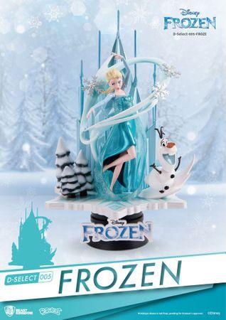 Disney D-Select 005 Diorama Statue: Die Eiskönigin - Völlig unverfroren – Bild 1
