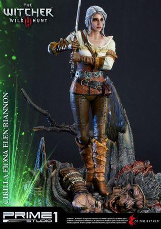 The Witcher 3: Wild Hunt Premium Masterline Statue: Cirilla Fiona Elen Riannon aka Ciri – Bild 7