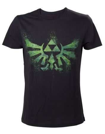 The Legend of Zelda: Twilight Princess T-Shirt: Hyrule-Emblem [Grün]