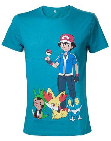 Pokémon T-Shirt: Ash Ketchum