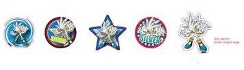Sonic the Hedgehog Magnet-Set: Silver the Hedgehog