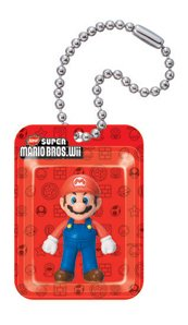 New Super Mario Bros. Wii Figures In A Blister Schlüsselanhänger: Mario