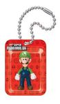 New Super Mario Bros. Wii Figures In A Blister Schlüsselanhänger: Luigi 001