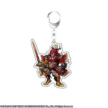 Dissidia Final Fantasy Volume 7 Acrylic Key Holder Anhänger: Gilgamesh