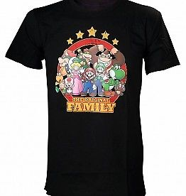Super Mario T-Shirt: The Original Family