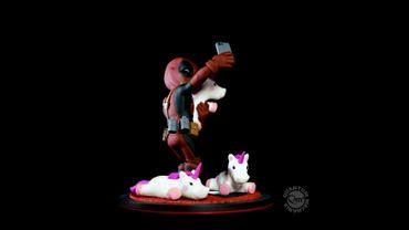 Deadpool Q-Fig Diorama: Wade Wilson aka Deadpool [Unicorn Selfie Version] – Bild 4