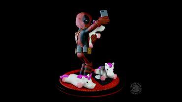 Deadpool Q-Fig Diorama: Wade Wilson aka Deadpool [Unicorn Selfie Version] – Bild 5