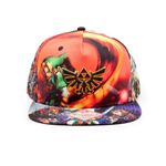The Legend of Zelda: Ocarina of Time Snapback Cap: Artwork 001