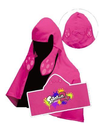 Splatoon 2 Inkling-Tintenfisch Frottee Handtuch: Inkling-Mädchen [Neon Pink]