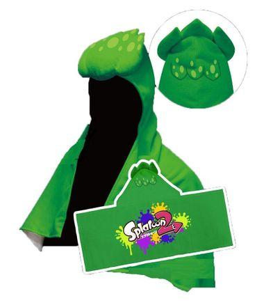 Splatoon 2 Inkling-Tintenfisch Frottee Handtuch: Inkling-Junge [Neon Grün]