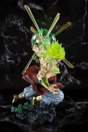 Dragon Ball Z FiguartsZERO Statue: Super Saiyajin Broly [Tamashii Web Exclusive Version] – Bild 4